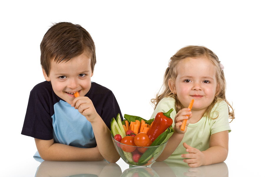 Getting kids to eat their veggies