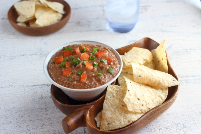 Feeding Teens: Black Bean Chipotle Dip